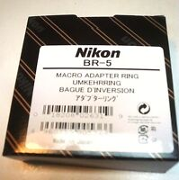 Official Nikon BR-5 Mount Ring 62mm for BR-2A ES-1 Japan Import F/S