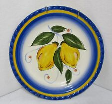 Tabletops Gallery, Lemon Italiano Salad/Dessert Plate