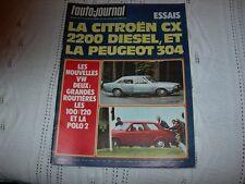 REVUE L'AUTO-JOURNAL  AVRIL 1976  CITROEN CX   PEUGEOT  304