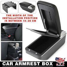 Armrest Center Center Console Lid Kits Organizer Storage Seat Box Black Tool Fits Mazda