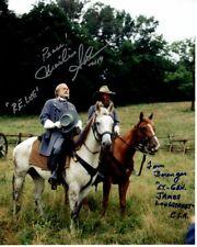 MARTIN SHEEN & TOM BERENGER signed autographed GETTYSBURG photo