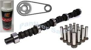 Ford 239 256 272 292 312 Y Block Camshaft Cam lifter timing kit zinc