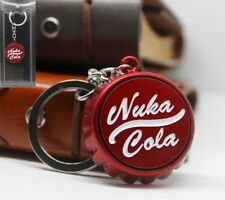 Fallout Keyring Keychain Nuka Cola PC Gaming Jewellery 9mm Metal PS4 Xbox *Aus*