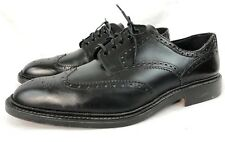 LOAKE Chester Men Black Brogues Oxfords US 12 UK 11.5 England Great Condition!!