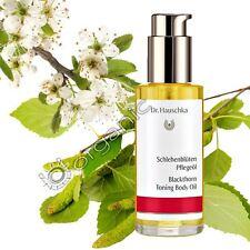 Dr Hauschka Genuine Organic Blackthorn Toning Body Oil 75ml NEW Long Date
