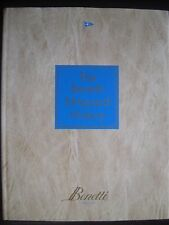 BOOK THE BENETTI SHIPYARD HISTORY BY VICTORIA MUNSEY AND CARLO PEZZINI  1999