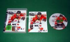 NHL 10 mit Anleitung und OVP fuer Playstation 3 PS3