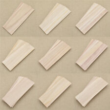 10 Pcs Wooden Plate Wood Sheets for DIY Model Toy Handmade Making 300x100mm