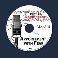 Appointment With Fear Old Time Radio Shows Thriller 3 OTR MP3 Files 1 Data DVD
