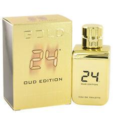 24 Gold Oud Edition 3.4 oz Eau De Toilette Concentree Spray (Unisex) by ScentSto