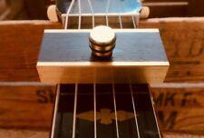 Brass Capo Resonador Dobro Weissenborn Lap Steel by woodshed capo's