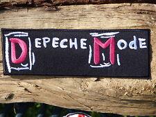 ECUSSON PATCH TOPPA AUFNAHER THERMOCOLLANT DEPECHE MODE musique / 16.1 cmX5.2 cm