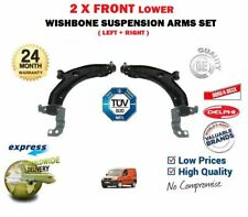 FOR FIAT DOBLO + CARGO 2001-> LEFT + RIGHT FRONT LOWER SUSPENSION WISHBONE ARM