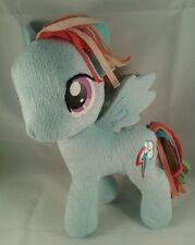 "Genuine My Little Pony Rainbow Bright Large Plush Soft Toy Doll 11"""