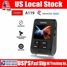 VIOFO A119 Capacitor  OV4689 Cmos Lens 2K HD 1440p Video Record Car Dash Camera