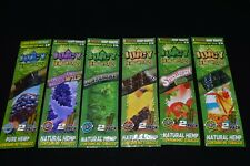 Juicy Jay's Hemp Wraps - 7 FLAVORS!! - 2 Per Pack - PICK ANY 5 FLAVORS