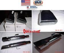 "1967 1976 Dart Duster Demon Exhaust Tips 2883838 2 1/2"" NEW MoPar"