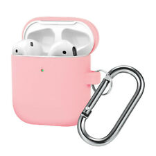 Airpods Case Protective Skin for Apple Airpod 2 Earphone Cover with Metal Buckle