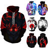 Unisex Dragon Ball Z 3D Print Hoodies Sweatshirt Hooded Sweater Jacket Pullover