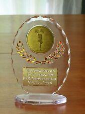 "Cheerleading/Pons 6 1/2"" Acrylic Award Trophy FREE engraving"