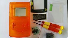 ES- PHONECASEONLINE CARCASA GAMEBOY COLOR PIKACHU CLEAR ORANGE NUEVA