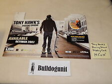 Tony Hawk's Proving Grounds Xbox 360 Playstation Nintendo Wii Game Display Promo