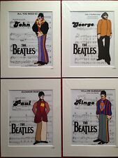 The Beatles - Yellow Submarine Collection - Hand Drawn & Hand Painted Cels