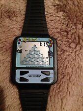mint unused Nelsonic Qbert nelsonic nintendo Game Watch Working