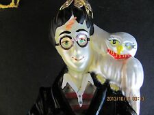Harry Potter & Hedwig Polonaise Glass Ornament