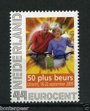 PERSOONLIJKE BEURSPOSTZEGEL 50 PLUS BEURS 2009 2563-C-4 CAT. 3,00 EURO
