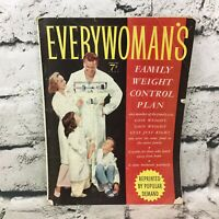 Vintage Every Women's Magazine February Issue 1957 Family Weight Plan VTG Ads