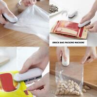 Handheld Mini Sealing Machine Plastic Bag Food Sealer Packing Kitchen Gadgets