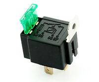 12V Automotive On/Off Fused Relay 30A 4-Pin *Holder Socket Box For Car/VAN