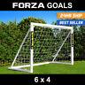 FORZA Football Goal | 6ft x 4ft Kids Goal | PVC Garden Goal | Goalposts And Nets