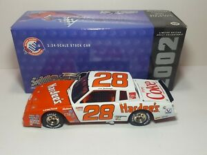 Cale Yarborough #28 Hardees 1/24 Action 1984 Monte Carlo Diecast 2002 b11