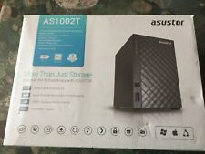 ASUSTOR AS1002T 2BAY NAS DISKLSS In Brand New Condition. Open Box Value!