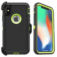For iPhone XR Xs Max 7/8 Plus Case with Belt Clip Fits Otterbox DEFENDER SERIES