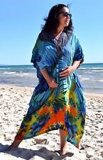 PLUS SZ 12 14 16 18 20 22 24 OSFM Natural Pure Silk Cape Jacket / Dress BNWOT!