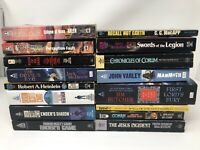 Lot of 16 Science Fiction Fantasy and Apocalyptic Mass Market Paperbacks