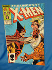 Vth Uncanny X-men #222 comic book superhero Marvel 1987 art Wolverine Sabretooth