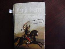 Martin Fierro Book paperback Spanish libro  Espanol Argentina Jose Hernandez 607