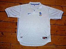 Grande Italia Camiseta de Fútbol 1998 Jersey Maglla Visitante