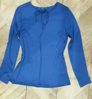 H&M Womens Blue Blouse Top Size 8/10