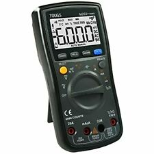 M202 True Rms Auto Ranging Digital Multimeter Electricians Tester With Rel And