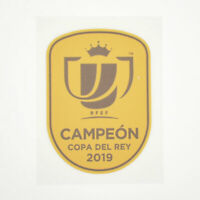 2018 Valencia Campeón Copa del Rey Player Issue Patch for Shirt Jersey