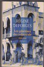 Les généraux du crépuscule - Régine Deforges. La bicyclette bleur 9 . TB état