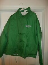 Rolling Rock Beer Green Windbreaker Jacket Size Xl Taylor Made Usa Never Worn