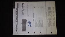 sharp wf-372 bk Service Manual Original Repair book boombox ghettoblaster tape