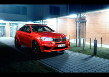 2016 AC SCHNITZER BMW X6 FALCON NEW A2 CANVAS GICLEE ART PRINT POSTER FRAMED