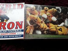 American football jigsaw and book